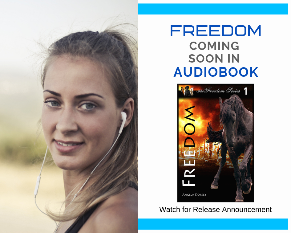 FREEDOM, my first audiobook to be released in October 2019.